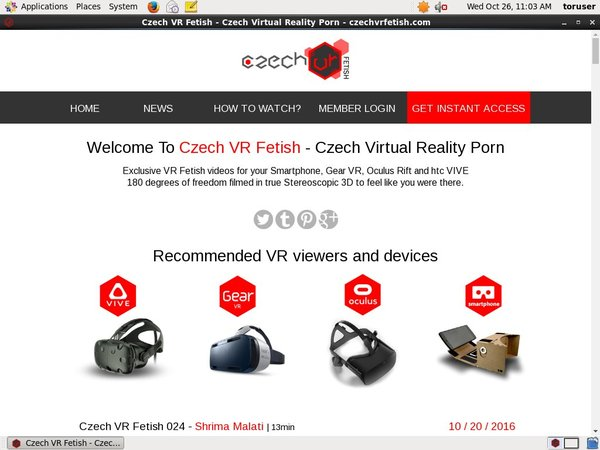 Hd Czech VR Fetish Free