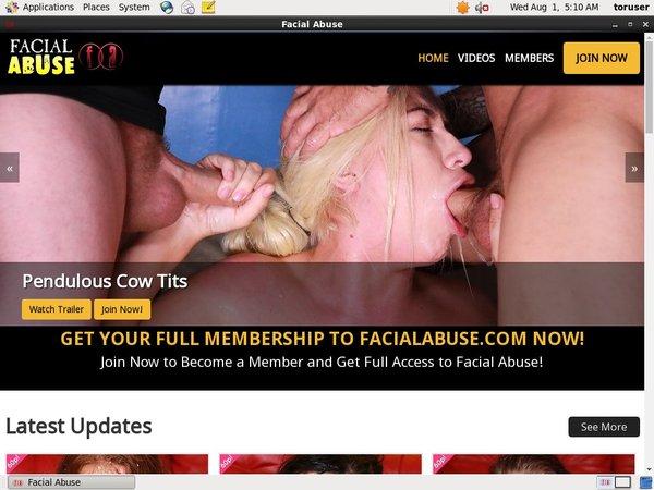 Facialabuse.com Free Try
