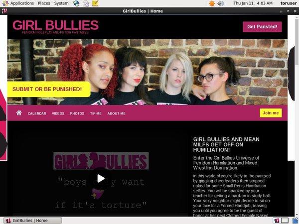 Paypal Girlbullies.com Join