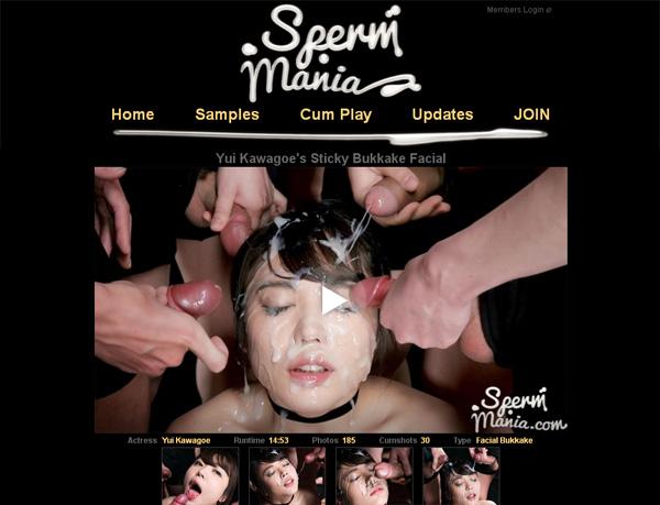 Spermmania.com With European Credit Card