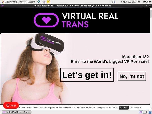 Virtualrealtrans Parola D'ordine