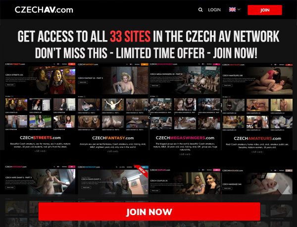 Czech AV Discount 50% Off