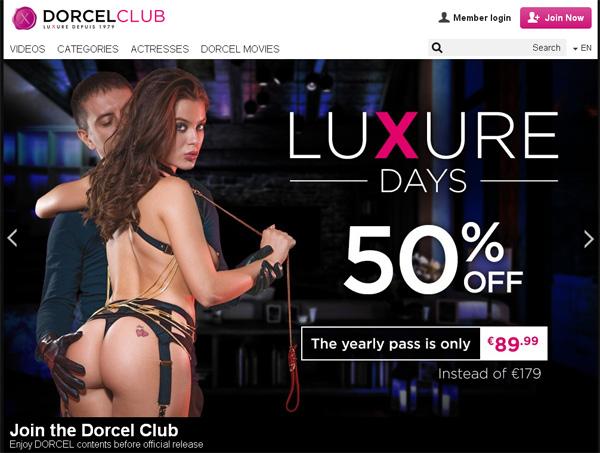 Free Access Dorcel Club