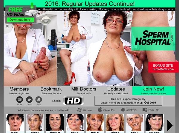 Sperm Hospital Pornstar