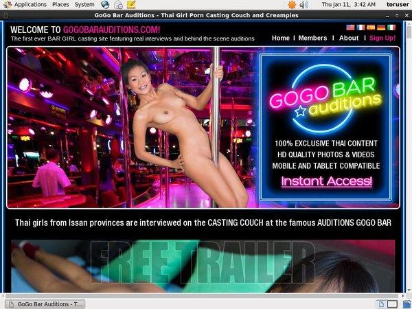Free Gogo Bar Auditions Scenes