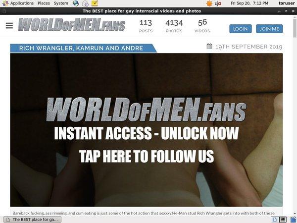 World Of Men Fans - Interracial Big Cock