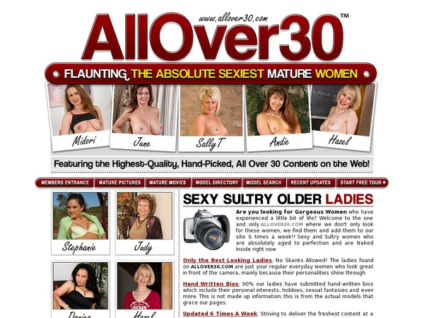 All Over 30 Original Account For Free
