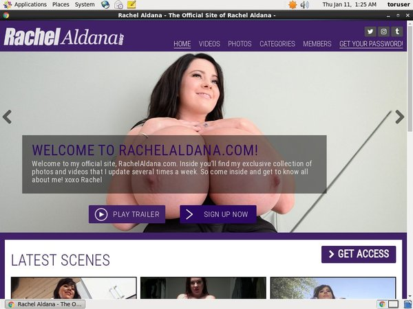 Rachelaldana.com Paypal Register