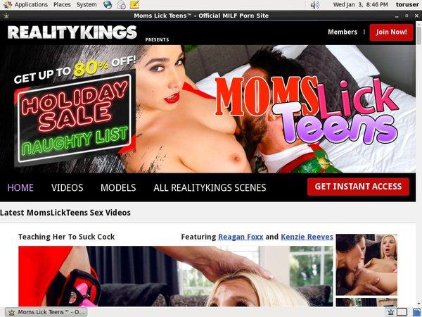 Moms Lick Teens Accounts Free