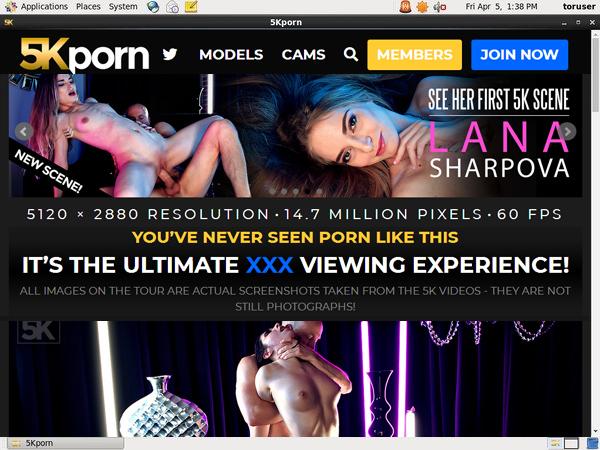 5kporn.com Accounts For Free