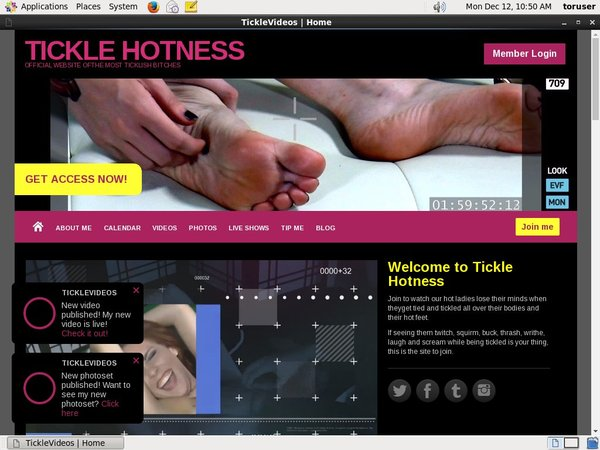 Ticklehotness.com Purchase